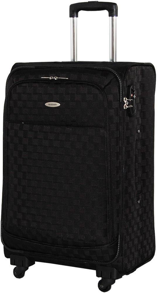 [SENATO セナート] スーツケース 3サイズ 中型( ML M )小型( S SS ) TSAダイヤルロック 機内持込 超軽量 ソフトキャリーケース キャリーバッグ B00PJL4NUI SS|ブラック ブラック SS
