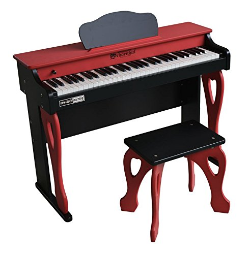 Schoenhut My First Piano Tutor, Red/Black, One Size Piano Tutor