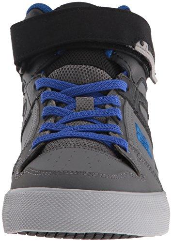 DC - - Jungen Spartan Hohe Ev Schuh, EUR: 32.5, Grey/Black/Blue