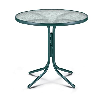 Telescope Casual 36 Inch Round Obscure Acrylic Top Counter Table