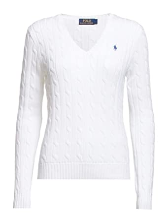 Scollo A Knit Pullover Ralph Cotton Polo Kimberly Lauren Cable V YwqSpZx