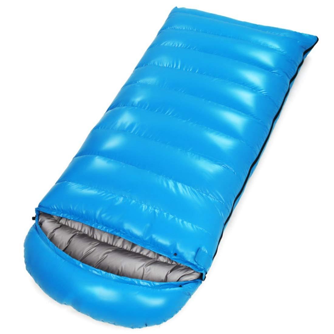 Xasclnis Umschlag-Leichtgewichtler tragbar für Das Reisen, Wandern, kampierend, Komfort für Kinder (Farbe : Blau, Größe : 1200g)