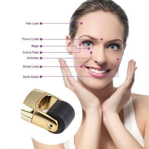 Dermapeel Titanium wrinkle Micro Needle remover wrinkle cream acne scar removal treatment 0.5mm+1.0mm+1.5mm