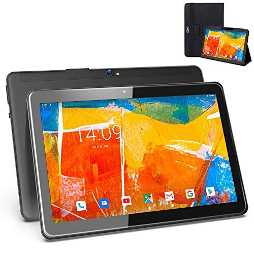 🥇 Tablet 10 Pulgadas 4G WiFi Android 9.0 Ultrar-Rápido – Tableta 4GB RAM 64GB de Memoria