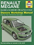 Renault Megane Petrol & Diesel: 2002 to 2008 (Haynes Service and Repair Manuals) by Jex, R. M., Legg, A. K. 2nd (second) Revised Edition (2011)