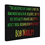 Bob Marley Motivational Quote CANVAS Wall Art Home Décor