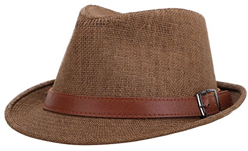 Jasmine Straw Hat Men Classic Short Brim Miami Beach Panama Fedora Straw -