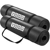 Yoga Mat Thick Multi-Purpose Lightweight Pilates Fitness...