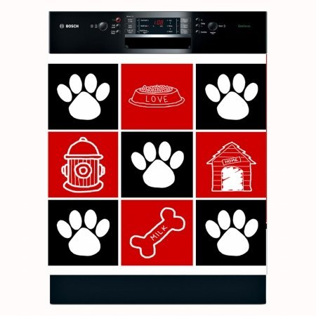 Appliance Art Decorative Magnetic Dishwasher