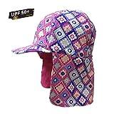 Kids Summer Sun Hat, UPF 50+ Sun Protection Legionnaire Cap Girls Boys (54CM)