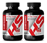 weight loss supplements - 15-Day Cleanse 1180MG - ADVANCED FORMULA - cascara sagrada capsules - 2 Bottles (60 Capsules)