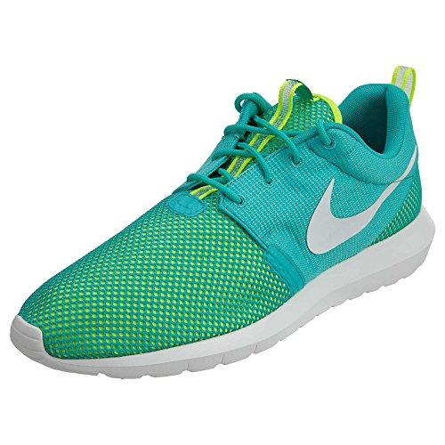 52bef740f10 Nike Mens Rosherun Nm Br LT RETRO VOLT WHITE 644425-402 11.5