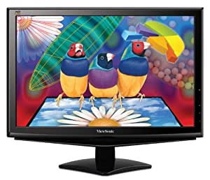 Viewsonic VA1948m-LED 19-Inch Widescreen LED Monitor (Black)