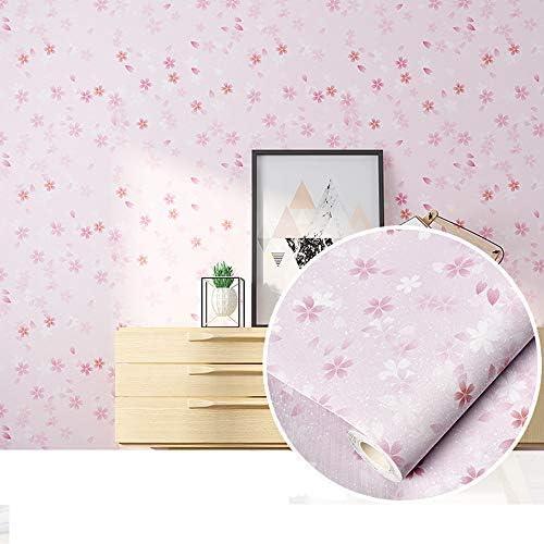 Tamoku 壁紙 シール 壁紙 花 桜 ピンク 幅60cm×長5m 壁紙 はがせる 壁デコシートリフォームシート ウォールステッカー おしゃれ 北欧 賃貸OK