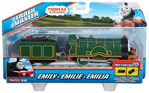 Fisher-Price Thomas & Friends TrackMaster Motorized Emily Engine (Thomas Train Characters)