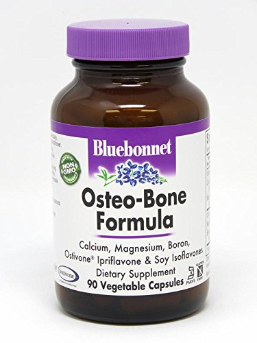 Bluebonnet Osteo Bone - BlueBonnet Osteo-Bone Formula Vegetarian Capsules, 90 Count