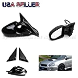 For 92-95 Honda Civic 4Dr K6 Racing Style Power Side Mirrors Replacement Upgrade