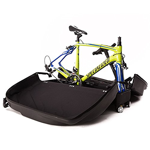 Muses Poem Bike Travel Case for 26''/700C Mountain Road Bicycle Travel Transport Equipment Black by Muses Poem (Image #8)