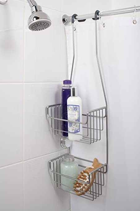 Croydex Secure Hook Over Shower Caddy 337068 Amazon Co Uk Diy