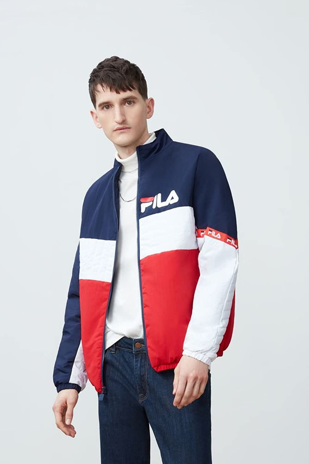 31c5fd2c2817c Fila Mens Jayden Full Zip Mens Jacket LM175V38 [5WarK0509130] - $36.99