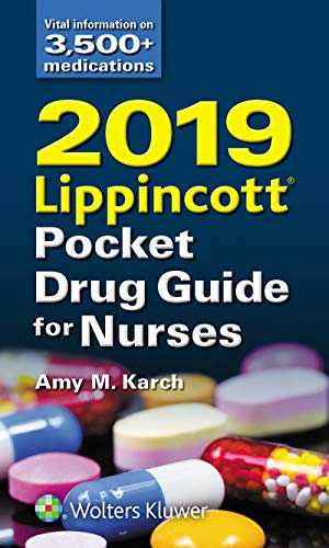 2019 Lippincott Pocket Drug Guide for Nurses (Best Selling Of 2019)
