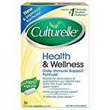 Culturelle Health and Wellness Supplement Probiotic, Once Daily Capsules, 30 Count