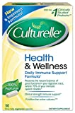 Culturelle Health & Wellness Daily Immune Support Formula, One Per Day Dietary Supplement, Contains 100% Naturally Sourced Lactobacillus GG -The Most Clinically Studied Probiotic†, 30 Count
