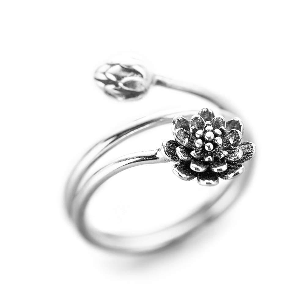 Negozio Di Sconti Onlinelotus Flower Ring For Women