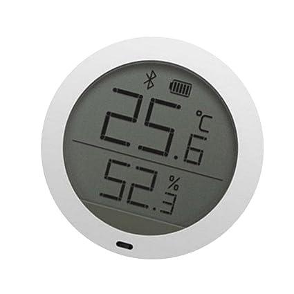 B Blesiya Temperatura Detector De Humedad Sensor Lcd Termómetro Para Xiaomi