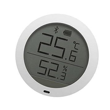 B Blesiya Temperatura Detector De Humedad Sensor Lcd Termómetro Para Xiaomi: Amazon.es: Jardín