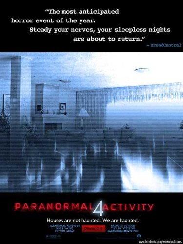 Paranormal Activity 4 Poster ( 11 x 17 - 28cm x 44cm ) (2012) by Decorative Wall Poster