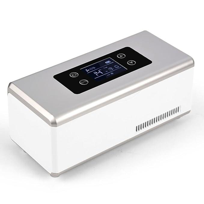Jh Congelador Caja de insulina Mini portátil refrigerada ...