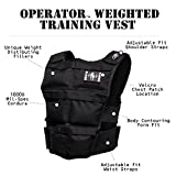Brute Force Weight Vest: Murph Tested, WOD Approved + The Best Running & Mobility Adjustable Vest on the Market for Men + Women - USA MADE