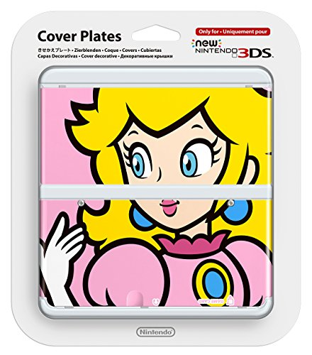 (New Nintendo 3ds Cover Plates Princess Peach Only for Nintendo New 3DS Japan Import)