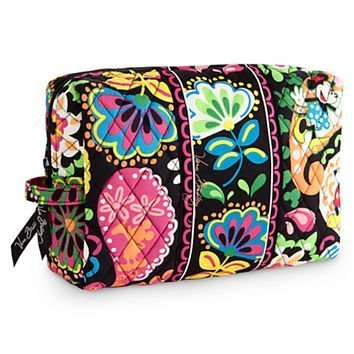 9af190a072 Amazon.com   Vera Bradley Midnight with Mickey Medium Cosmetic Case Black  Disney Parks Exclusive LIMITED EDITION   Beauty