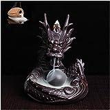 Dragon Incense Burner Ceramic Holder Home Office Decor Review and Comparison