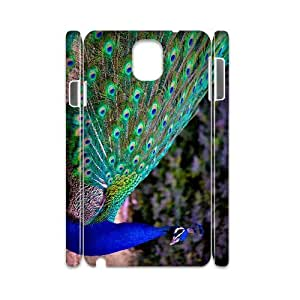 HXYHTY Diy case Peacock customized Hard Plastic case For samsung galaxy note 3 N9000