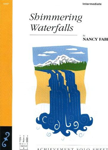 Shimmering Waterfalls Intermediate Level Piano Solo ()