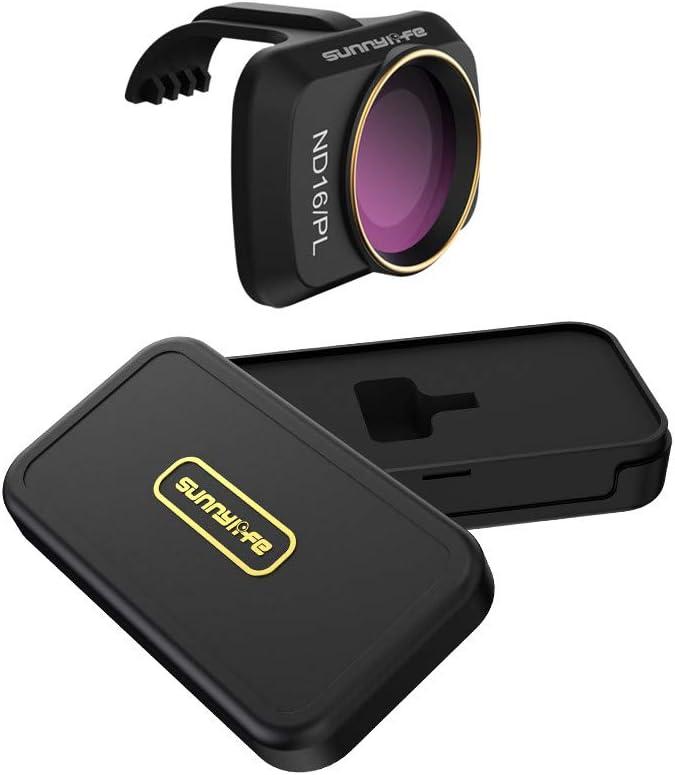 Vkarh Gimbal Lens Filter for DJI Mavic Mini Drone, MCUV CPL ND/PL 4/8/16/32 Professional Optical Glass Lens (ND16/PL)