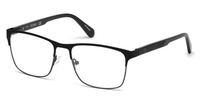21c8ddd1979 Eyeglasses Guess GU 1924 002 matte black at Amazon Men s Clothing store