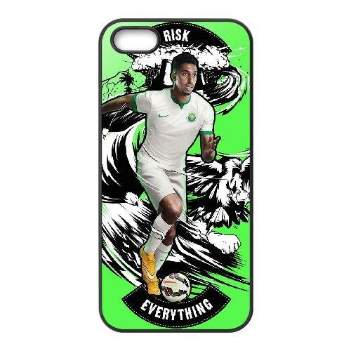 N8P34 Arabie Saoudite Nike Kit M1U4XV coque iPhone 4 4s cellule de cas de téléphone couvercle coque noire DE7YBC4CJ