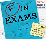 F in Exams 2020 Daily Calendar