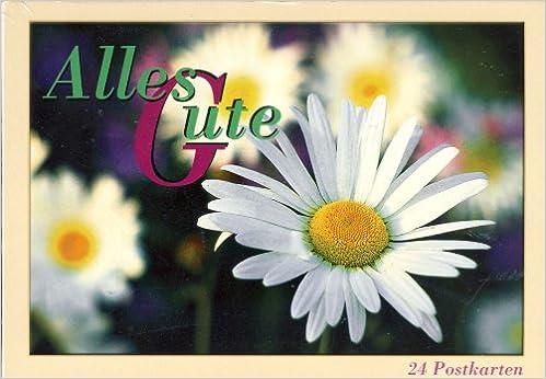 Book Alles Gute. 30 farbige Postkarten.