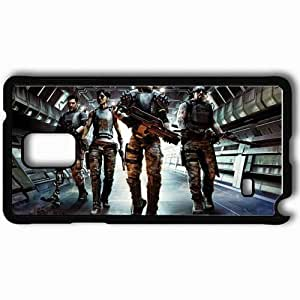 Personalized Samsung Note 4 Cell phone Case/Cover Skin Aliens Colonial Marines Black