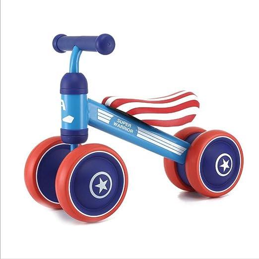 YANWE Baby Balance Car Scooter De Cuatro Ruedas para Niños Coche ...