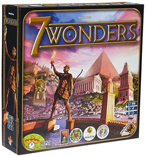 Jogo De Tabuleiro 7 Wonders Galápagos Jogos