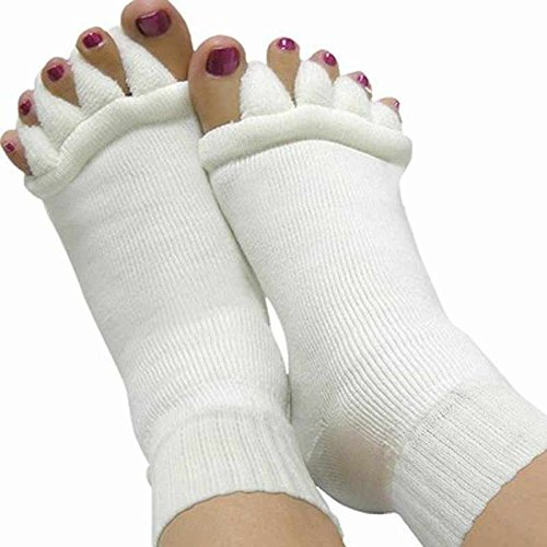 Wall of Dragon Sock Five Toe Separator Socks Toe Massage spa Yoga Foot Alignment Socks For Pain Relief Women Footcare by Wall of Dragon