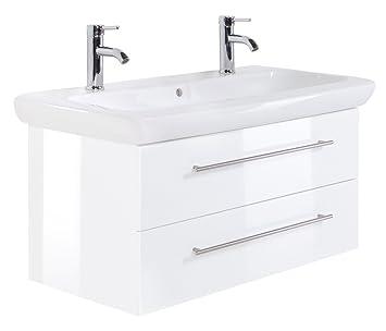 Meuble salle de bain 100 cm de large - Mobilier SdB - Oskab