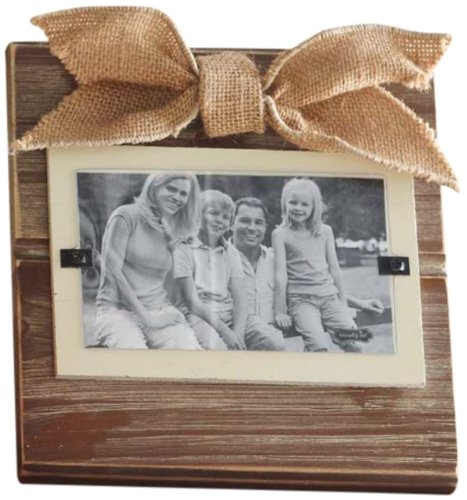 Mud Pie Natural Photo Frame, Small