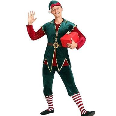 Deeabo Disfraz De Duende De Navidad, Lujoso Y Hermoso Disfraz De ...